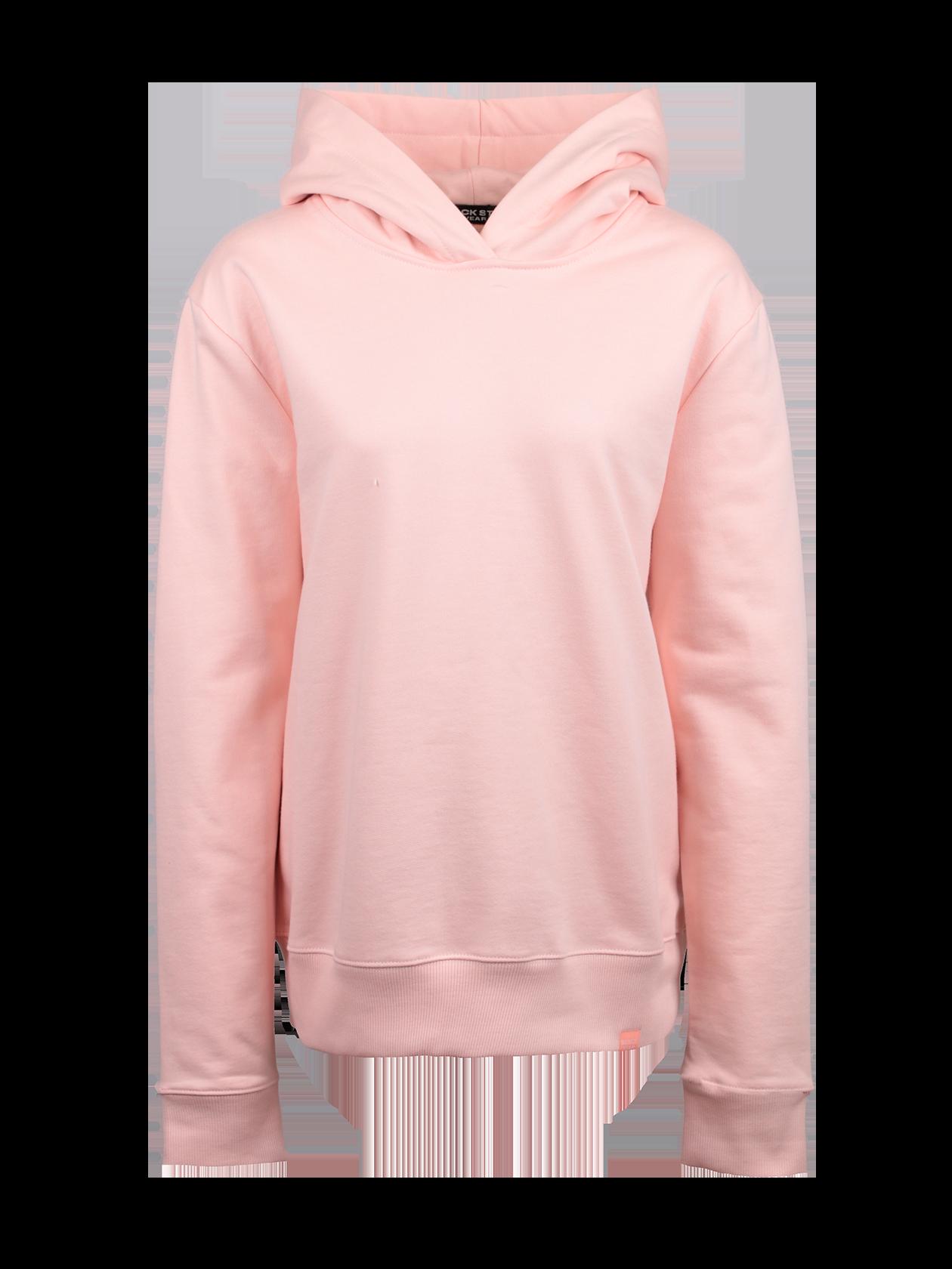 Худи женская NUDEХуди унисекс Nude приятной бледно-розовой расцветки станет неотъемлемой частью любого гардероба. Модель спортивного стиля с объемным капюшоном. Низ и манжеты вещи оформлены широким гофрированным трикотажем в тон к изделию. Внутри по горловине спинки оформлен жаккардовый лейбл Black Star Wear. Фасон прямой, свободный, слегка удлиненный. Худи сшита из плотного футера, приятного к телу, отличается высокой носкостью и практичностью. Подходит для спорта, отдыха, прогулок.<br><br>Размер: S<br>Цвет: Розовый<br>Пол: Женский