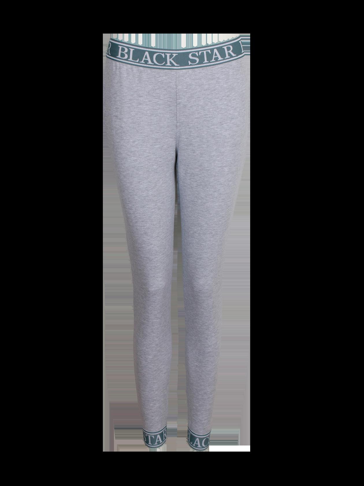 Брюки женские ROYALTY SPORTМодные брюки женские Royalty Sport – отличное решение для дополнения спортивного лука. Модель стильного дизайна, актуального в любом сезоне фасона с зауженным низом и небольшим припуском. Расцветка светло-серый меланж комбинируется с любым другим цветом одежды и обуви. Интересная фишка брюк – яркий пояс с надписью Black Star, выполненный из брендированной резинки. Аналогичное оформление имеет голенище. Изделие сшито из высококачественного хлопкового полотна.<br><br>Размер: M<br>Цвет: Серый меланж<br>Пол: Женский
