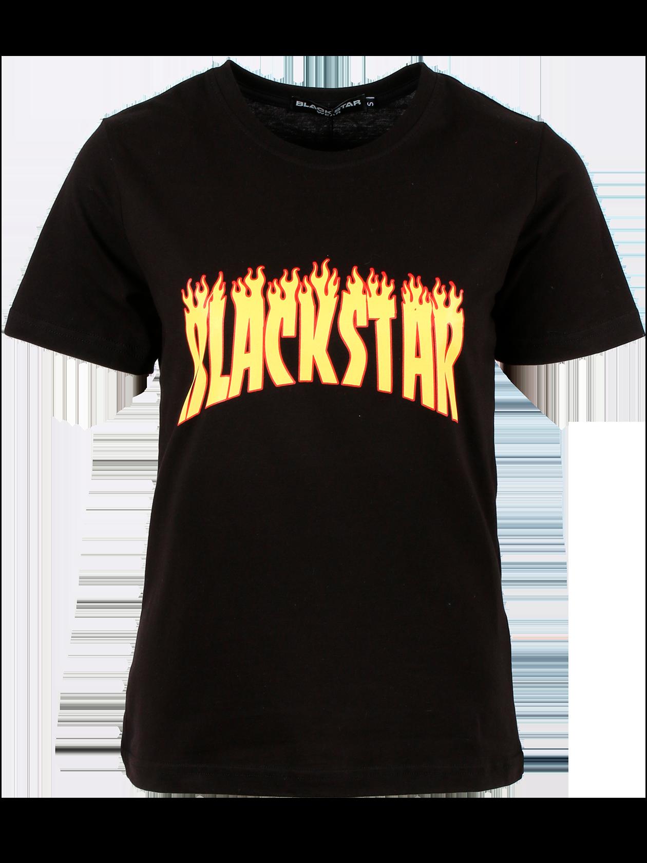 Womens t-shirt FIREWOMAN<br><br>size: L<br>color: Black<br>gender: female