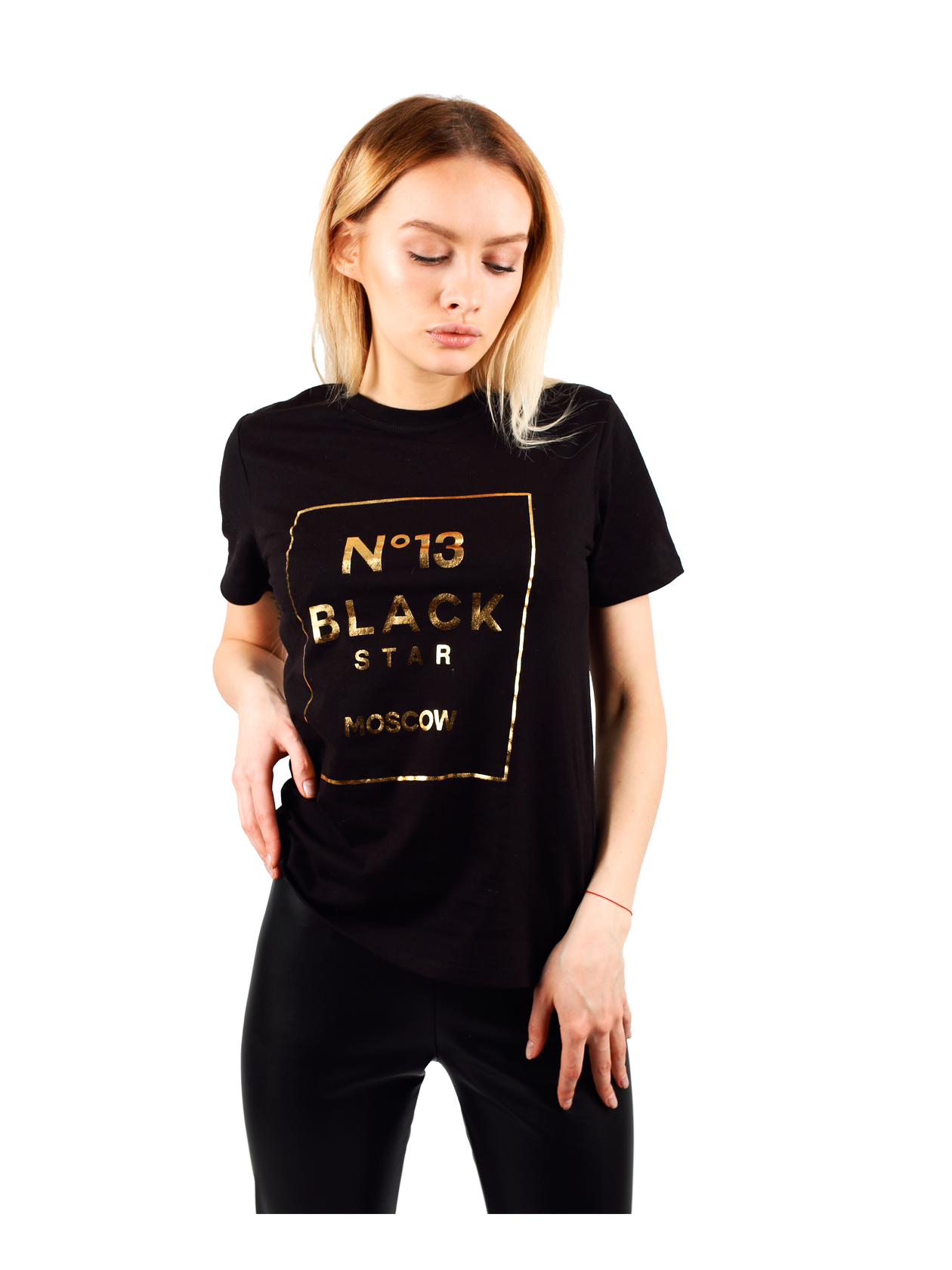 Womens t-shirt №13 от BlackStarWear INT