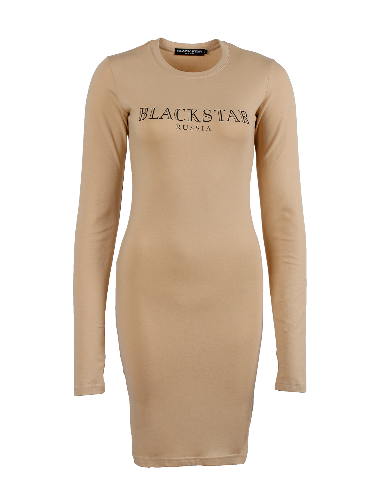 Платье женское MOSCOW BEIGE Black Star Wear