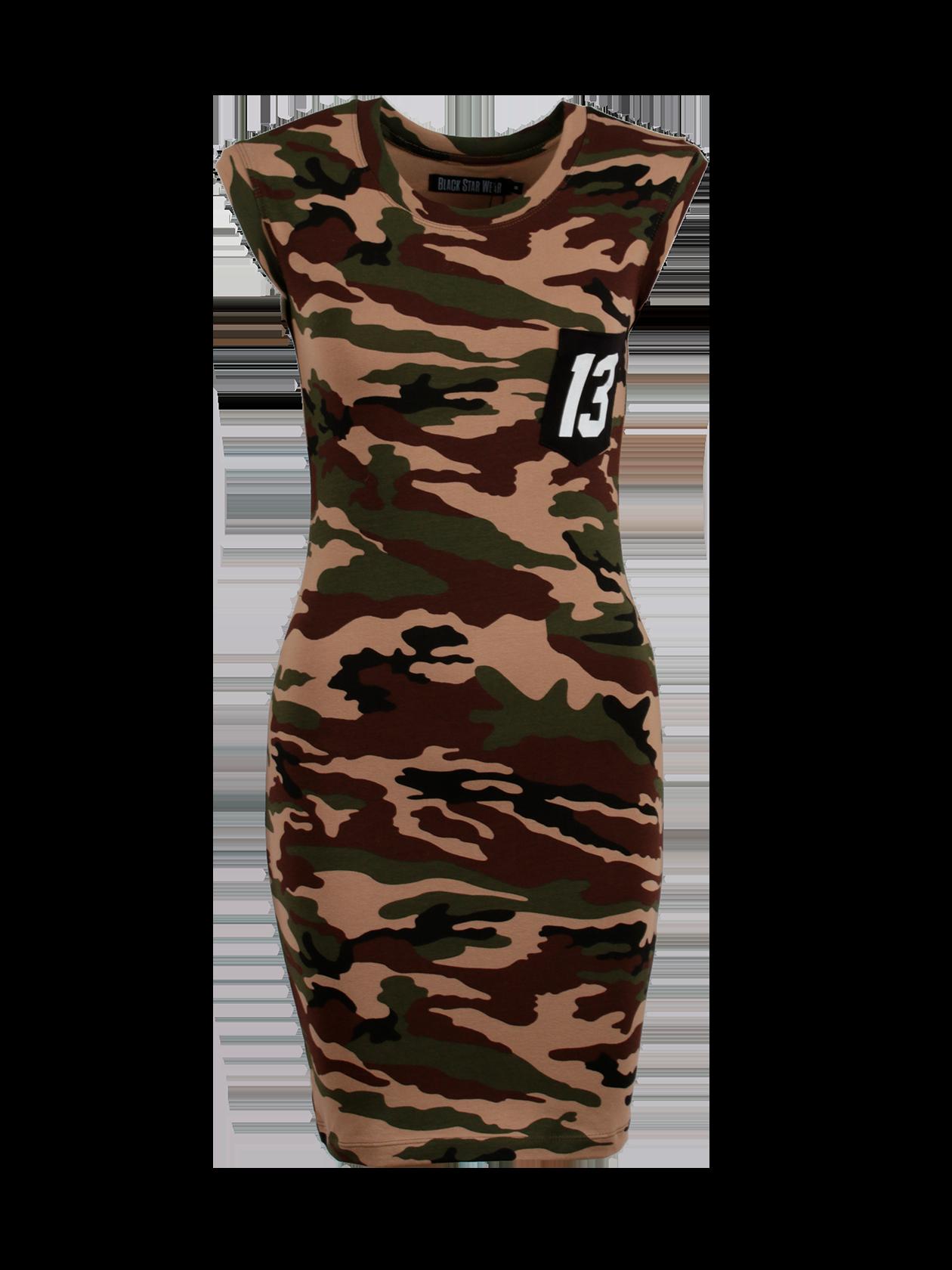 Платье женское SKINNY CAMO от Black Star Wear
