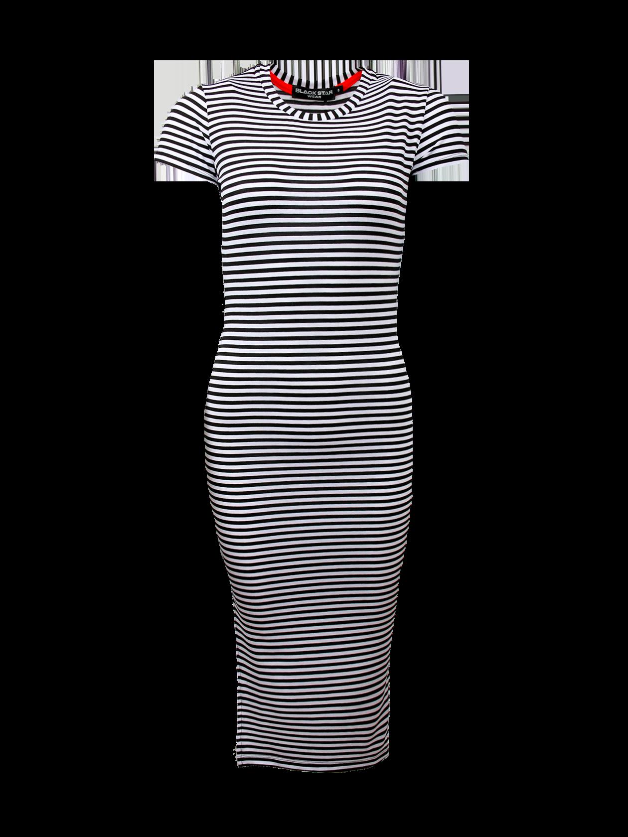 Туника женская GOLD XIIIТуника женская Gold XIII – модный хит сезона от бренда Black Star. Удлиненная модель полуоблегающего кроя может использоваться, как самостоятельная вещь или в комбинации с леггинсами. Дизайн дополнен небольшим рукавом, узкой округлой горловиной и боковым вырезом. Универсальная расцветка в черно-белую полоску не теряет своей популярности уже много лет. Туника сшита из высококачественного материала на основе натурального хлопка.<br><br>Размер: S<br>Цвет: Черный/Белый<br>Пол: Женский
