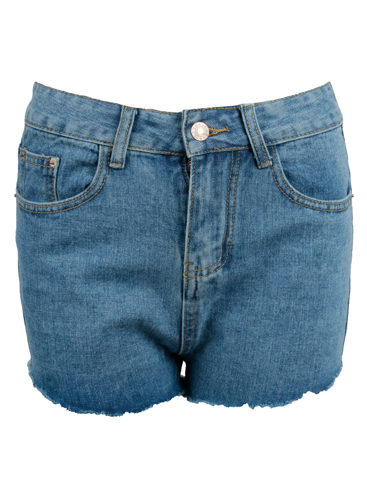 Шорты джинсовые женские HOT 13 DENIMШорты джинсовые женские Hot 13 Denim – актуальный тренд любого сезона. Модель классического дизайна с широким поясом, петлями под ремень и застежкой-молнией на закрытой планке спереди. Передние и задние карманы предназначены для хранения личных вещей. Сзади имеется вышивка с цифрой 13. Изделие укороченного кроя с необработанным краем низа отлично комбинируется с одеждой и обувью спортивного, повседневного стиля. Шорты изготовлены из высококачественного денима светло-синей расцветки.<br><br>Размер: L<br>Цвет: Голубой<br>Пол: Женский