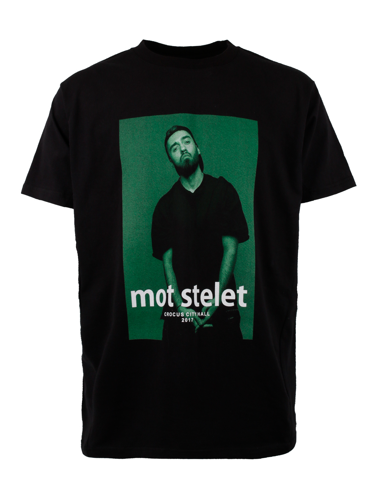 Футболка унисекс MOT STELET GREEN от Black Star Wear